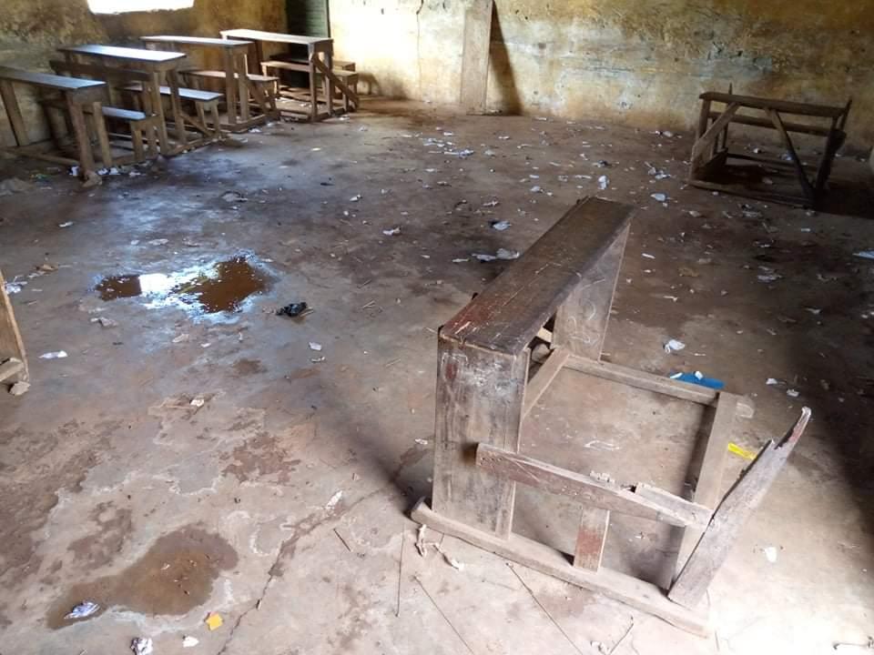Renovierung der Grundschule Linsan