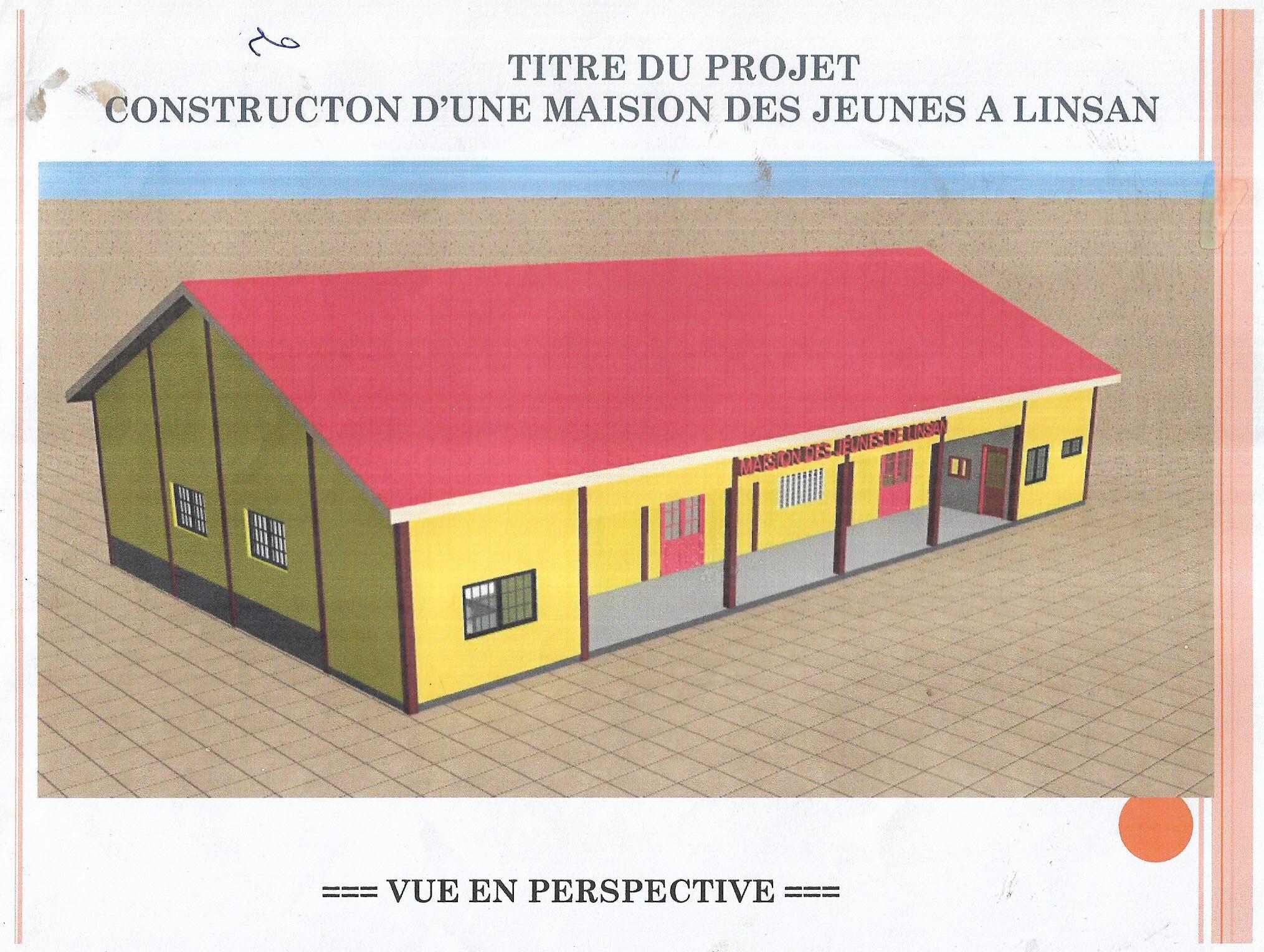 Kinder- und Dorfkrankenhaus in Linsan/Guinea